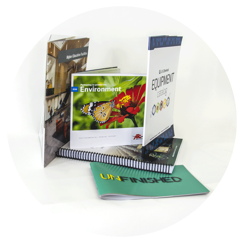 Digital & Offset Booklets & Catalogs