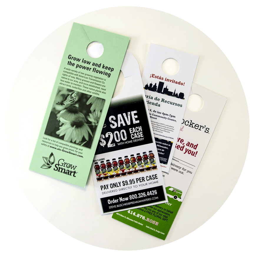 Digital & Offset Door Hangers