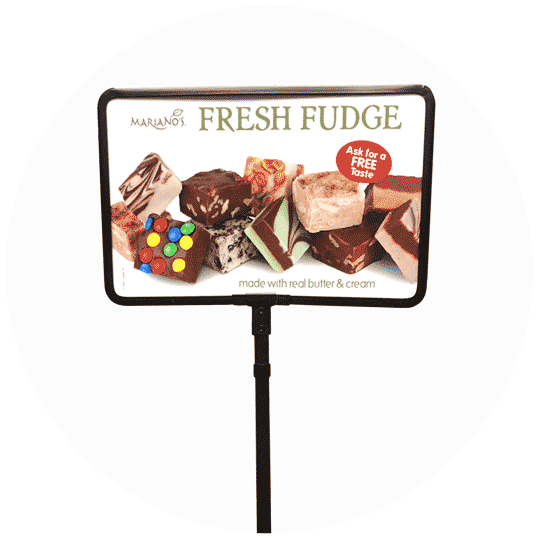 Direct2Board Tabletop Signage