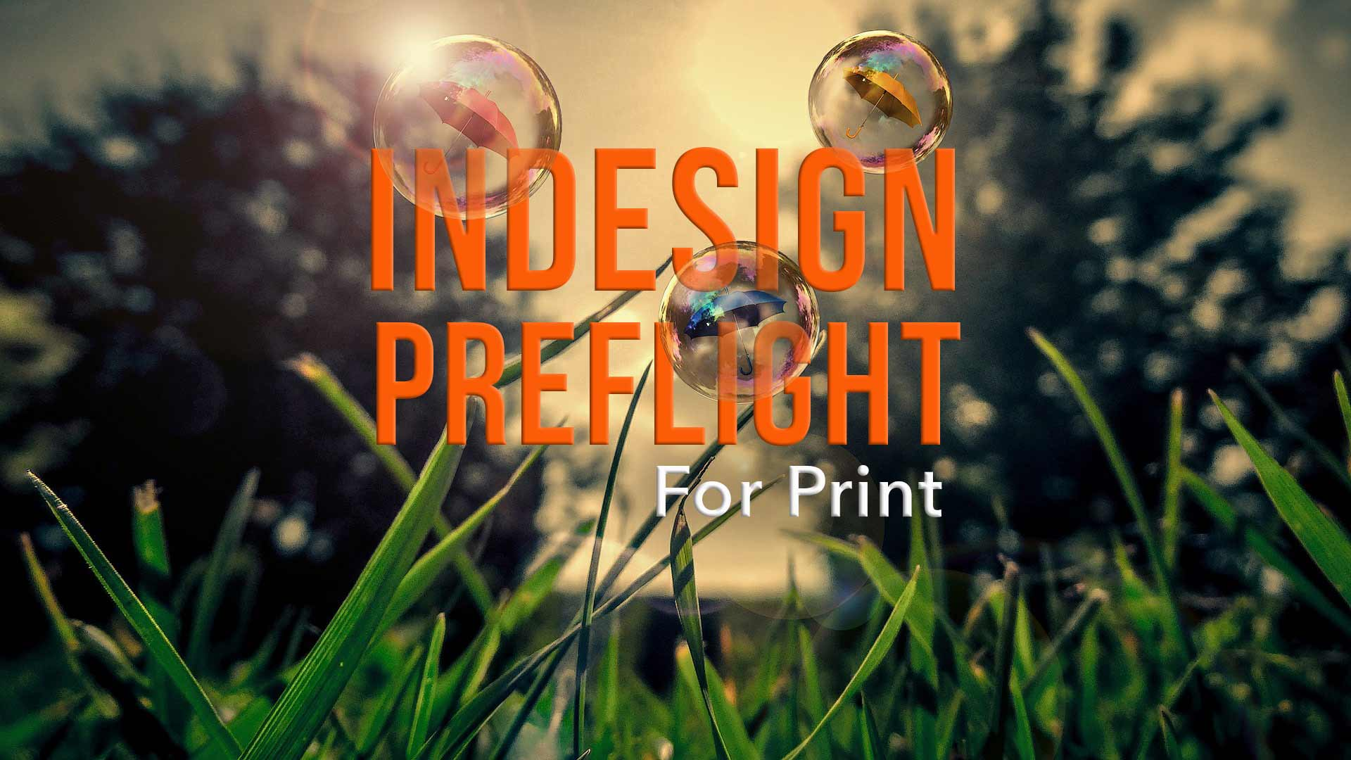 How To Set Up InDesign For Print